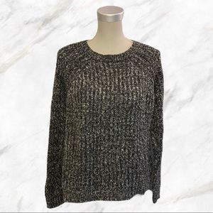 4/$30 🌷 F21 | Salt & Pepper Thick Knit Sweater